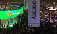MWC 2017: Samsung und Huawei