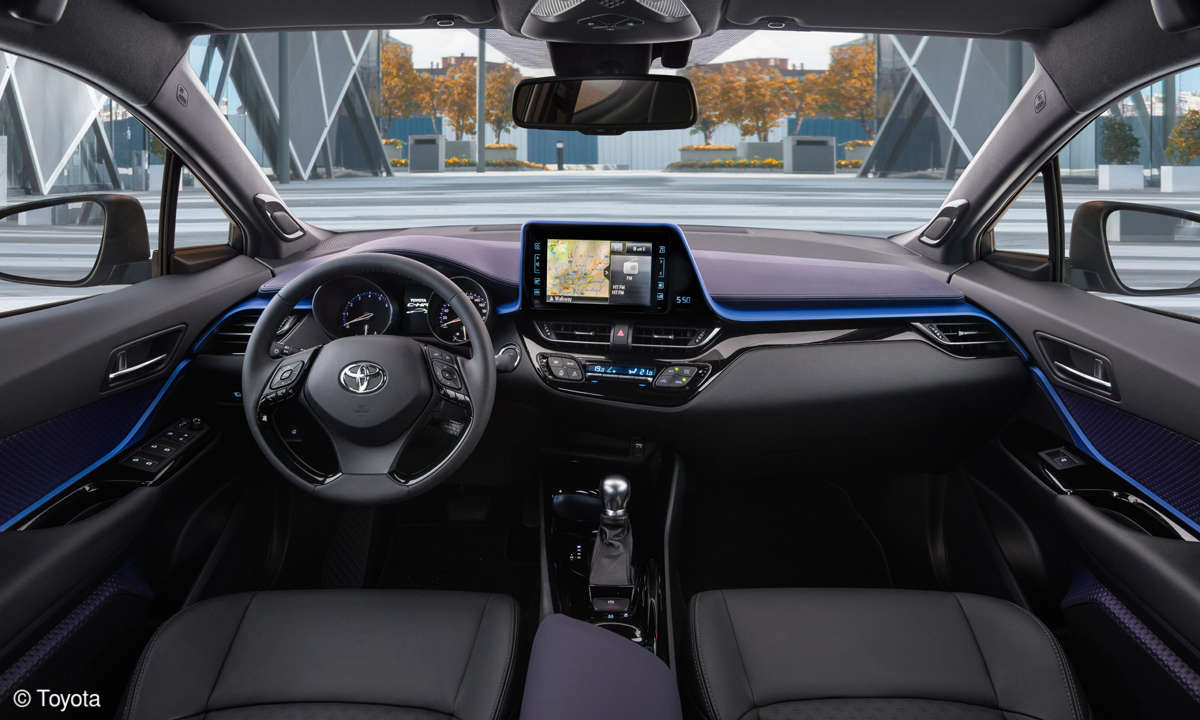 Toyota C-HR - Details