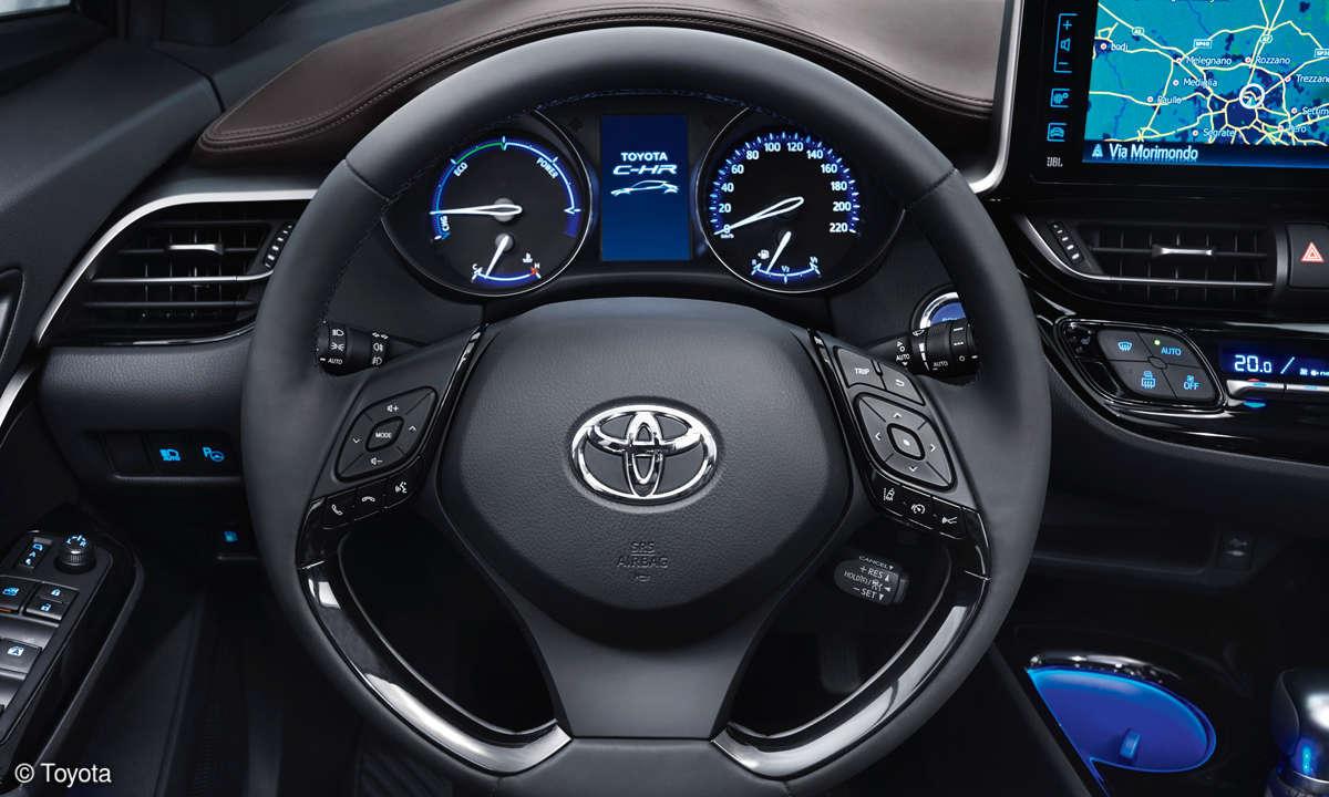 Toyota C-HR - Innenraum