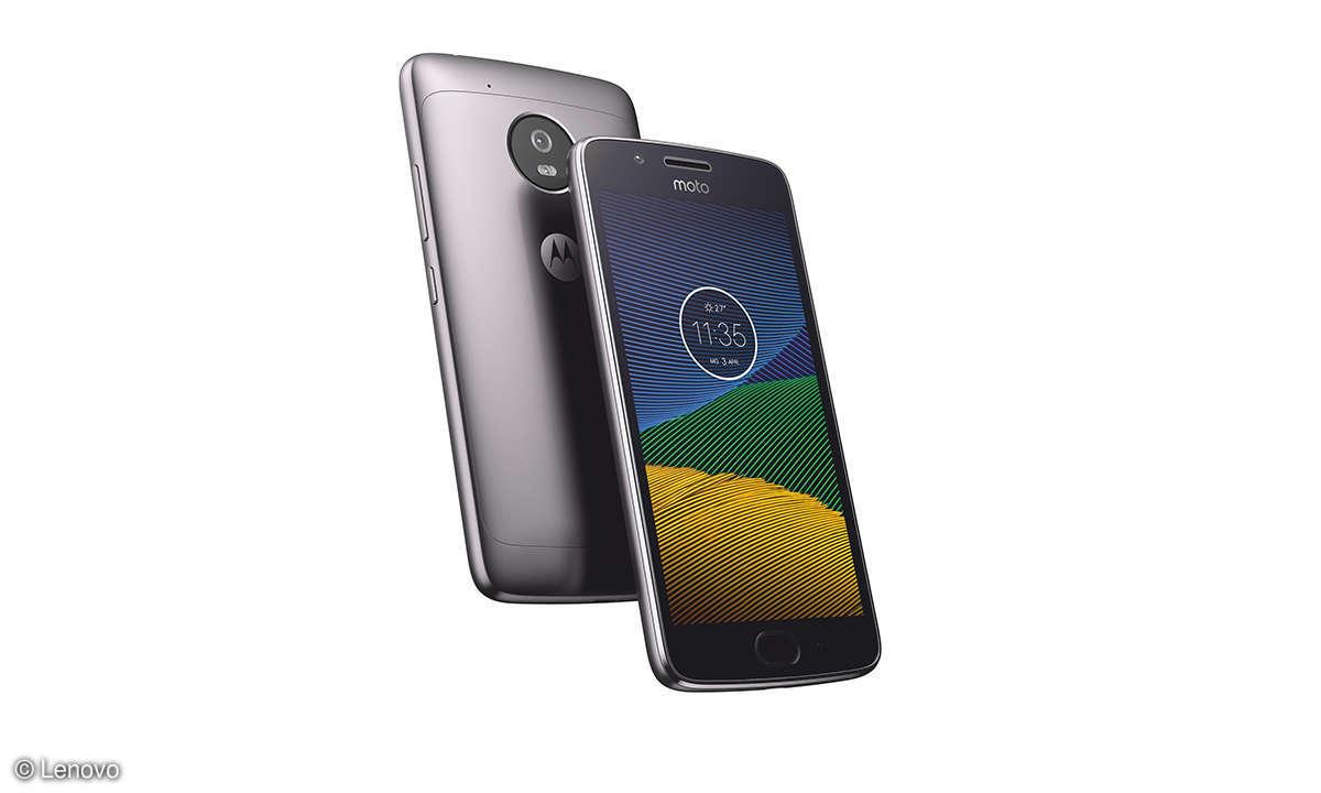 Lunar Gray Lenovo Smartphone