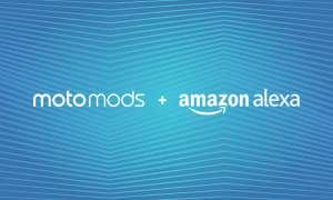 Amazon Alexa Moto Mod