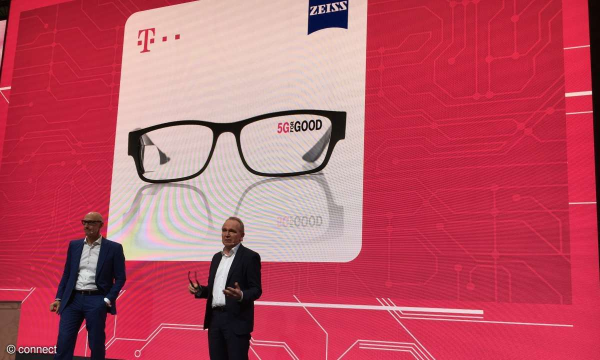 Smarte Brille der Telekom und von Zeiss
