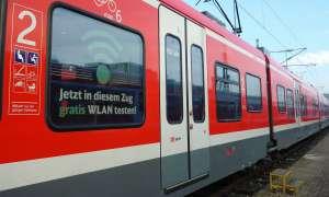 WLAN Regionalzug DB Testphase