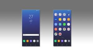 Benutzeroberfläche Samsung Experience
