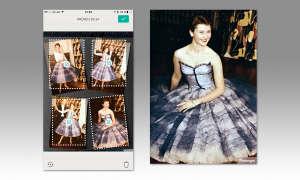 Photomyne Screen und Ergebnis