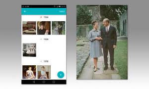 Photo Scanner Screen und Ergebnis