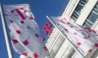 Deutsche Telekom Logo Flaggen