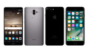 Huawei Mate 9 vs. Apple iPhone 7 Plus