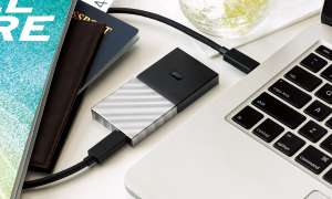 tragbare USB-Festplatte Speicher Western Digital