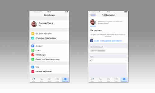 Neuer Und Alter Whatsapp Status Alle Einstellungen