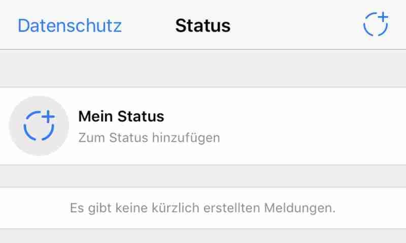 Whatsapp Status So Funktionieren Die Neuen Status Meldungen