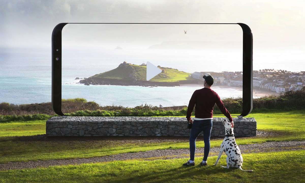Riesiges Samsung Galaxy S8