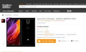 Xiaomi Mi MIX 2 - Leak