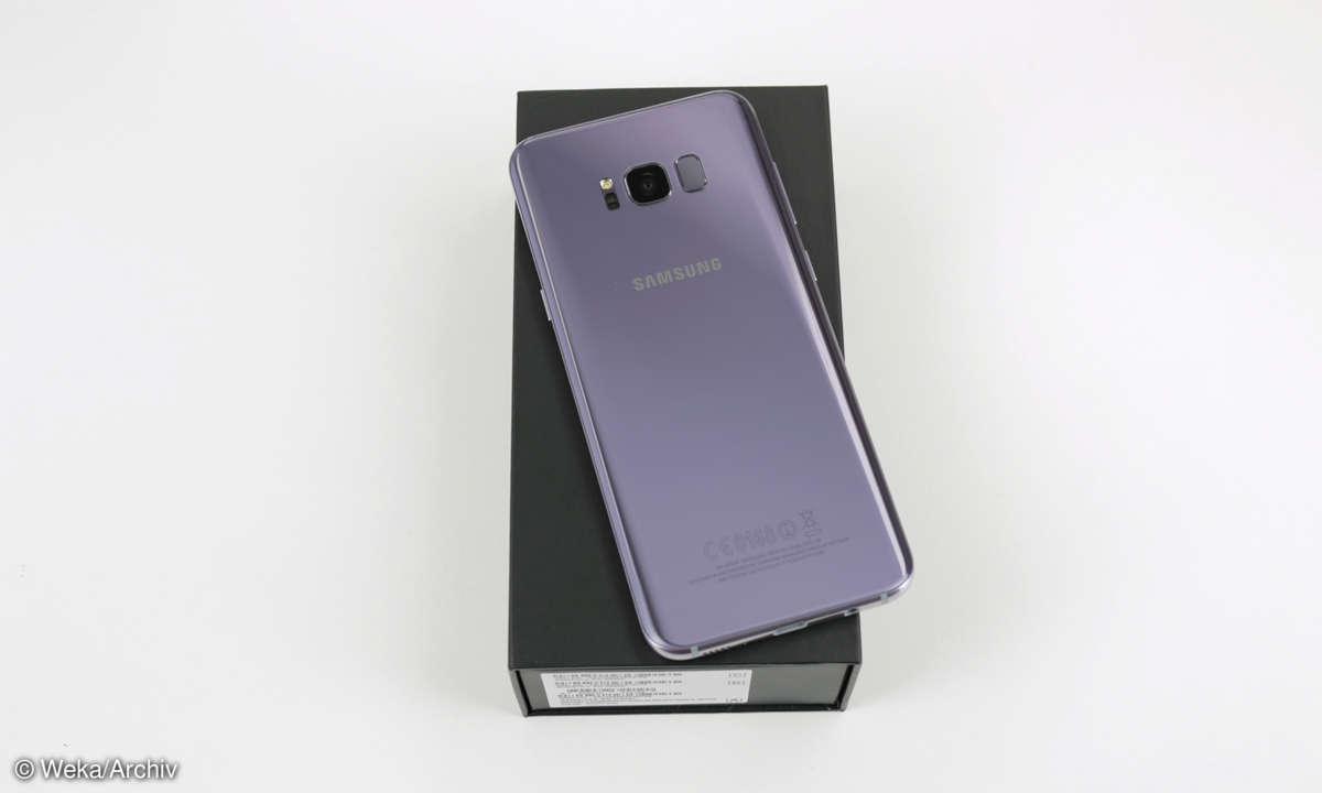 Samsung Galaxy S8 Plus Orchid Grey