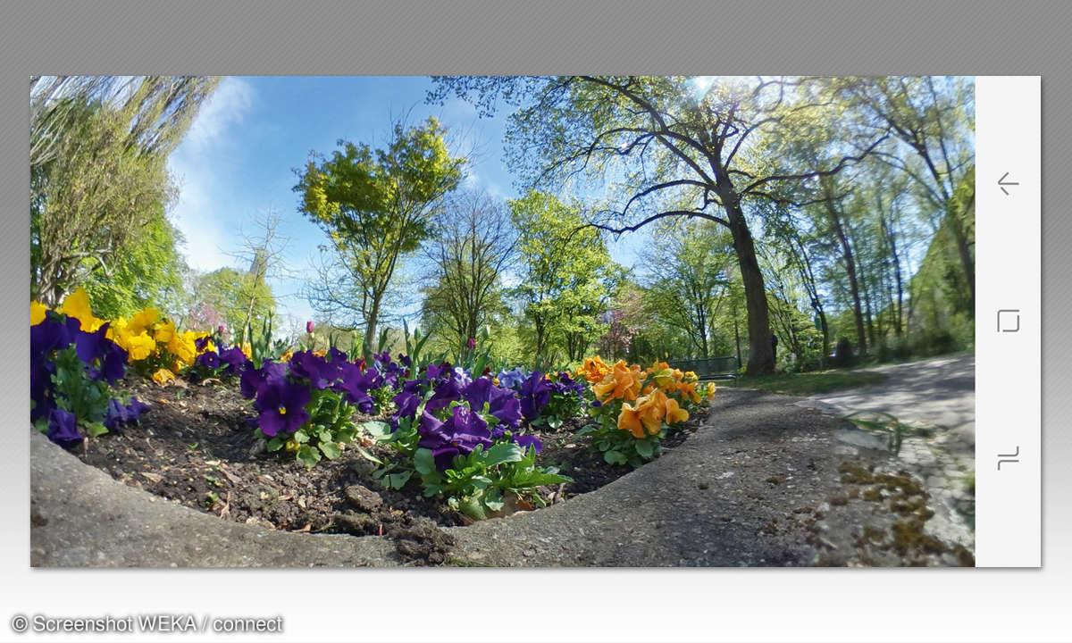Bild mit Samsung Gear 360