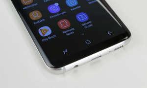 Samsung Galaxy S8 Homebutton