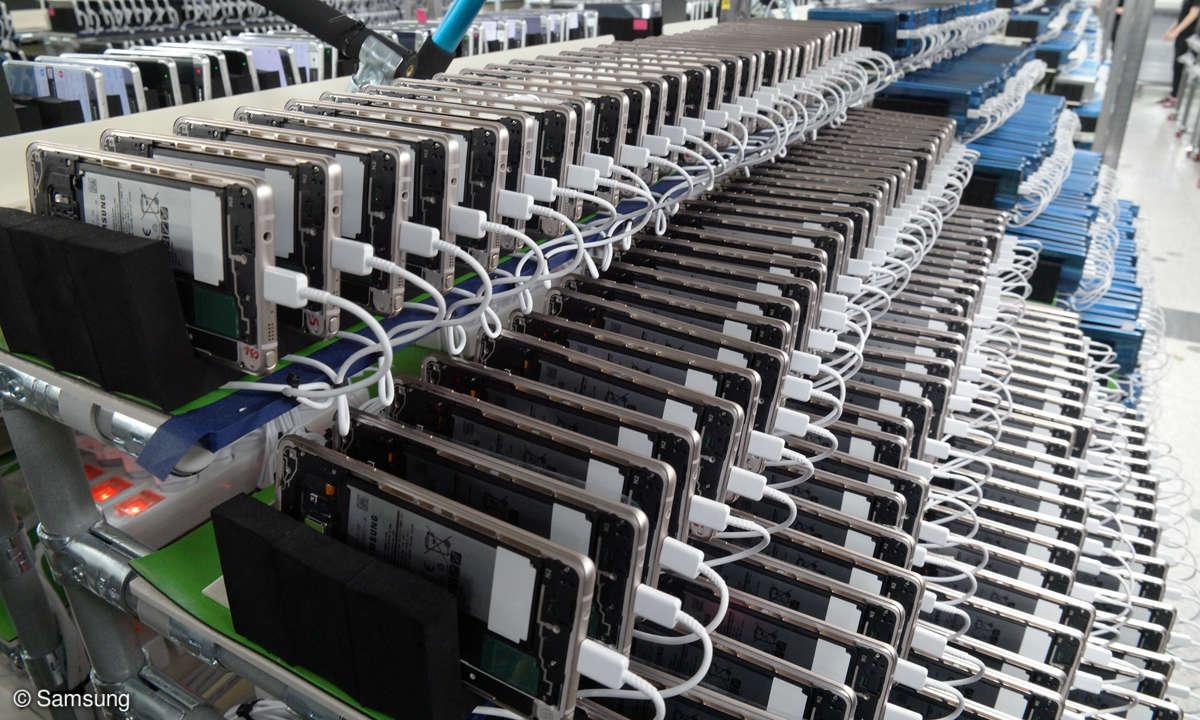 Samsung SIcherheitscheck
