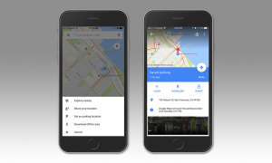 Parken mit Google Maps