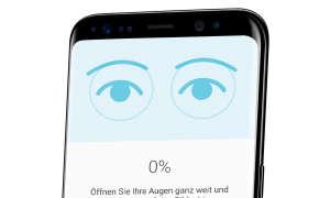 Screenshot auf Galaxy S8 Sicherheit