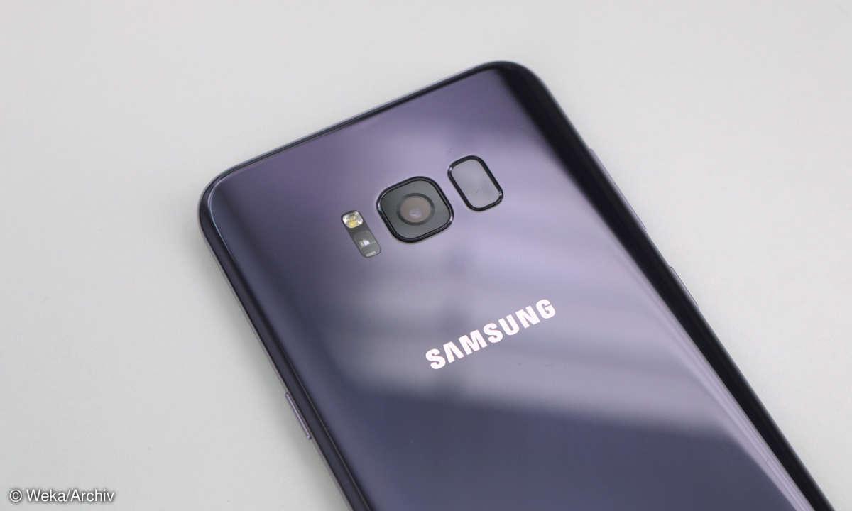 Samsung Galaxy S8 Plus Hauptkamera Fingerabdruck-Scanner