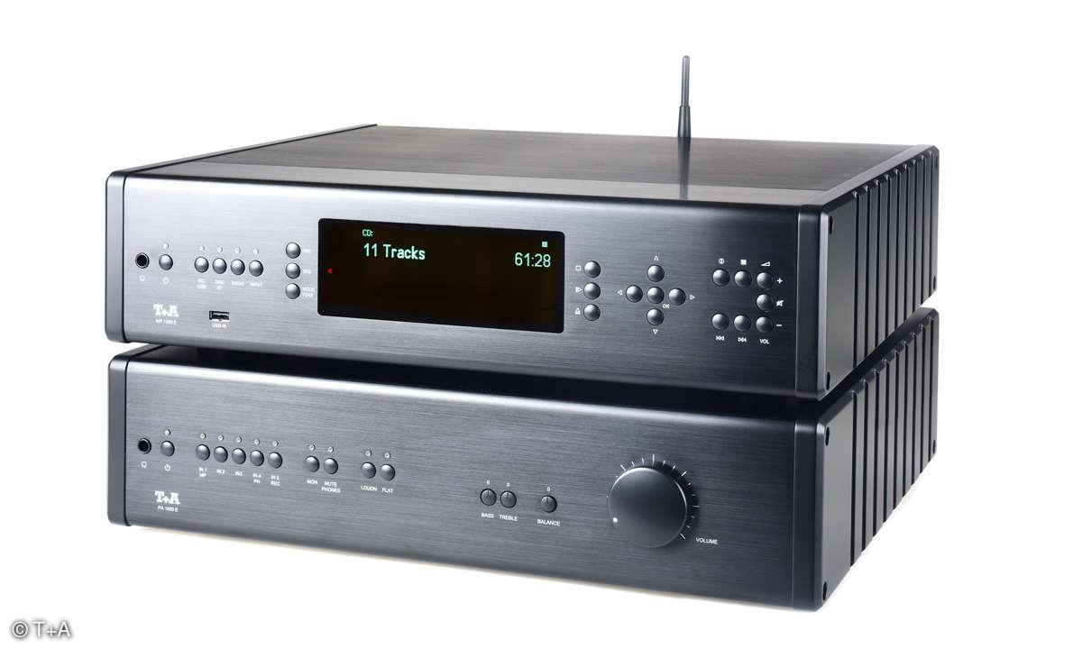 T+A Digitalkombi MP 1000 E und PA 1000 E