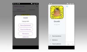 Snapchat Nutzer blockieren
