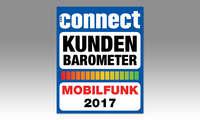 connect Kundenbarometer Mobilfunk 2017