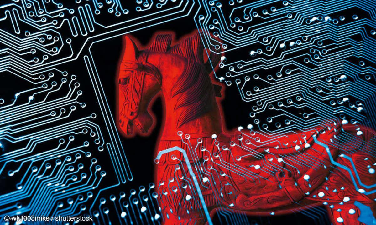 Trojaner im Netz