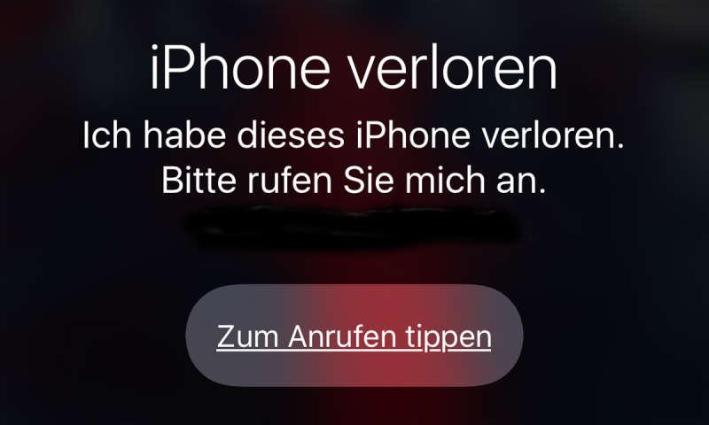 iphone 6 verloren orten