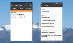 Alpenvereinaktiv App Screens