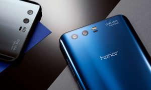Honor 9 Blau und Schwarz