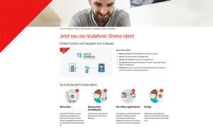 Vodafone CallYa Prepaid-Identifizierung