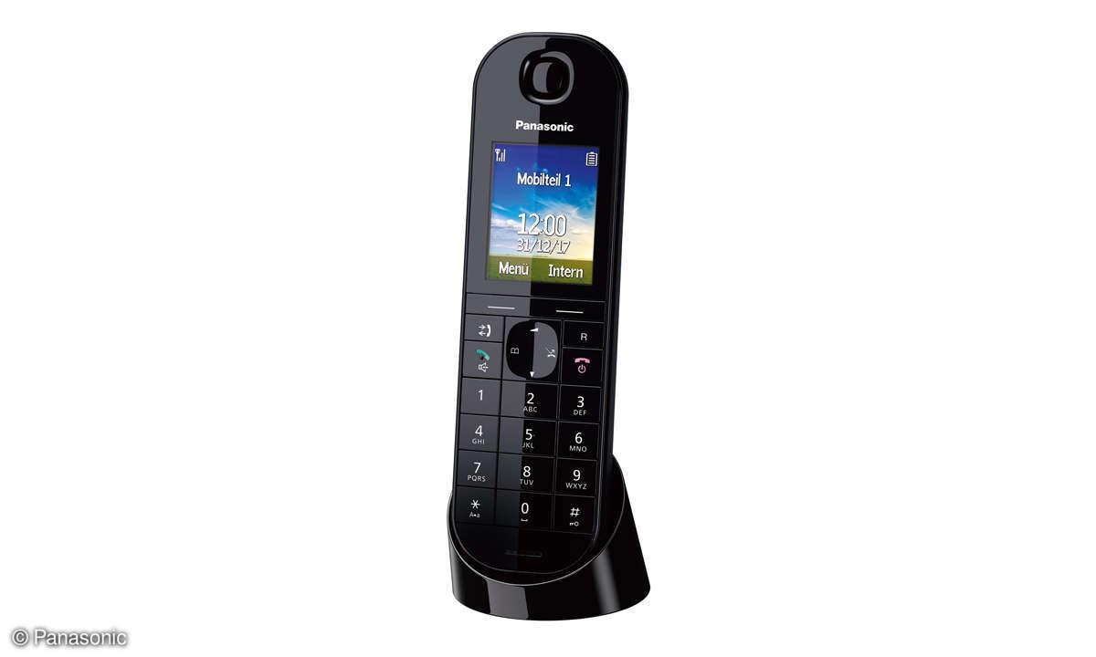 Panasonic KX-TGQ 400 mit Ladeschale