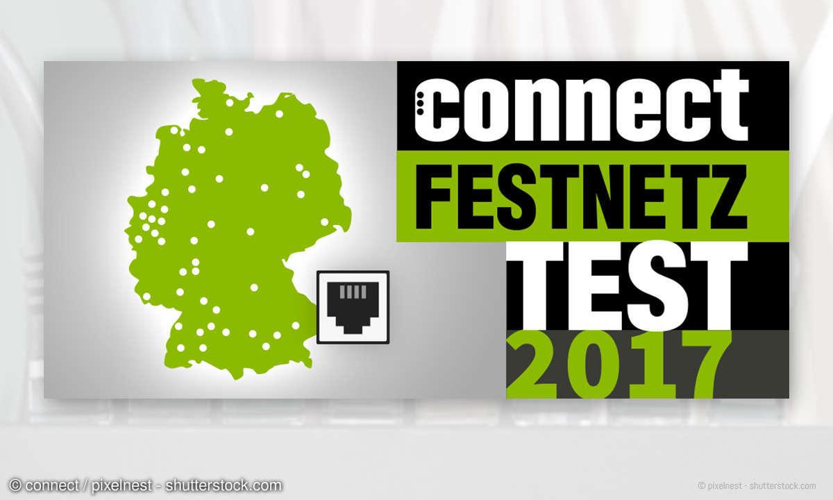 connect Festnetztest 2017