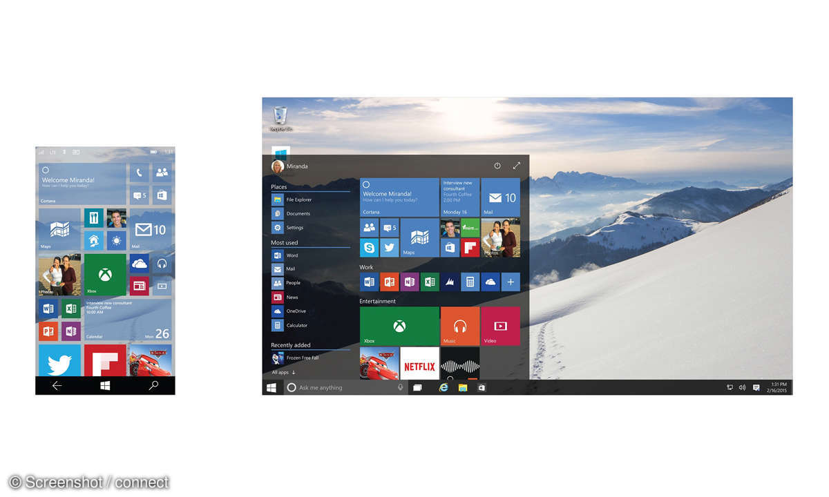 Windows Continuum