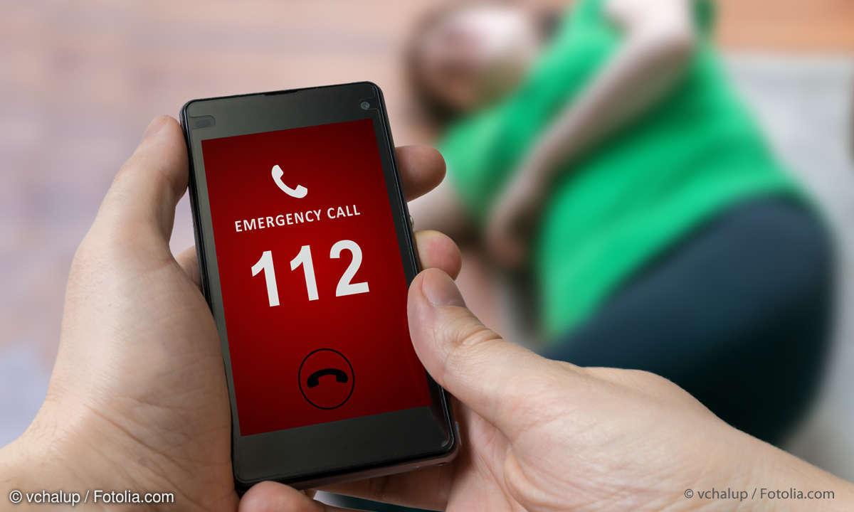 Smartphone Notruf