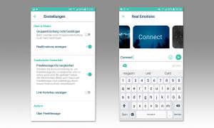 Screenshots FreeMessage GMX