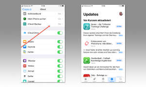 Backup und Updates