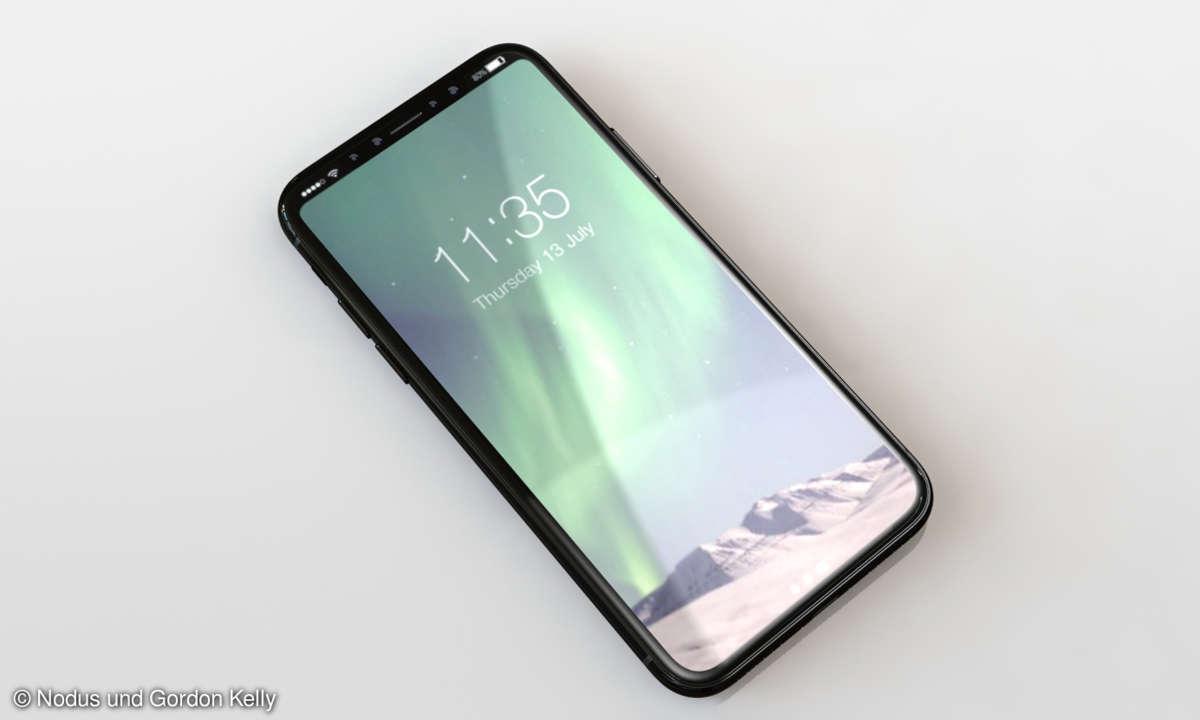 iPhone 8 Rendering Display