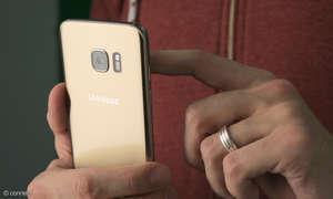 Android Smartphone benutzen hochkant 2