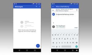 Kurznachrichten in Android senden
