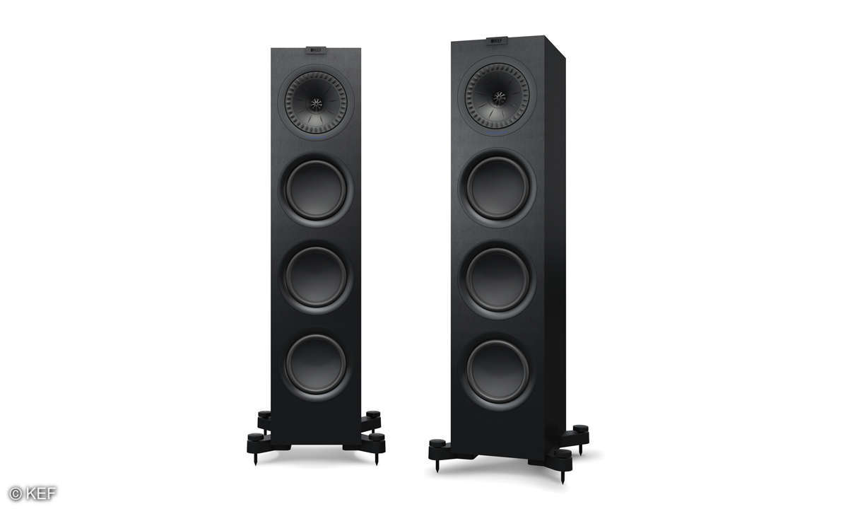 KEF Q750 black pair