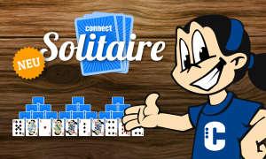 connect Solitaire Kartenspiel