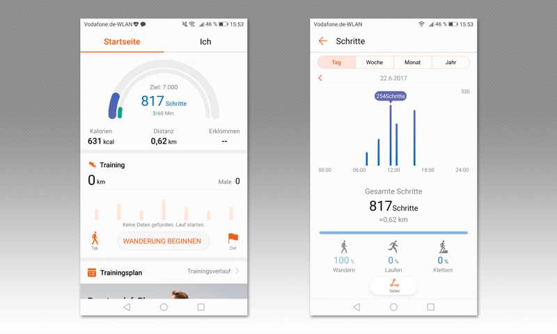 Huawei Gesundheit im Test - connect