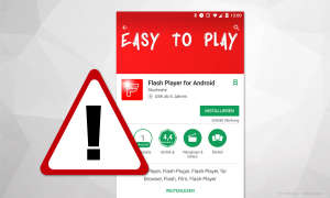 Flash Player für Android - Fake App Warnung