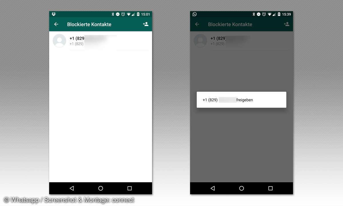 whatsapp spam melden blockieren rueckgaengig machen