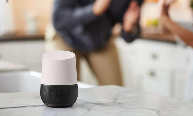 google home ab sofort im handel verdr ngt er amazons. Black Bedroom Furniture Sets. Home Design Ideas