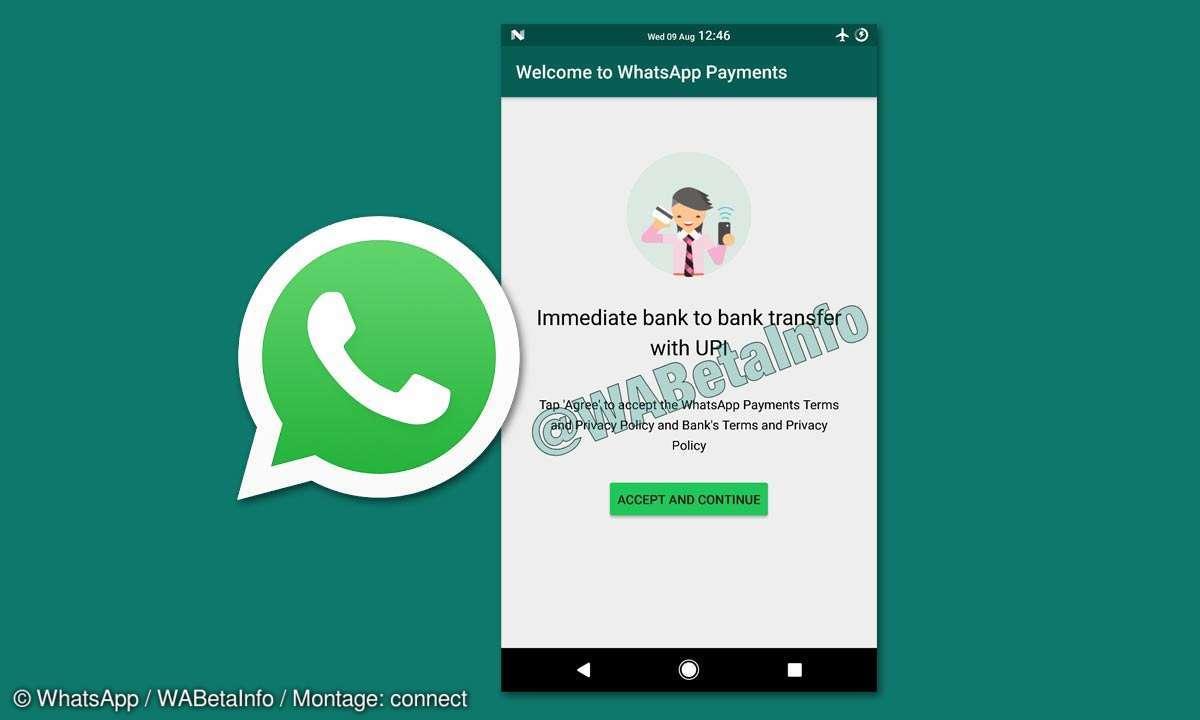 WhatsApp Bezahlfunktion Screenshot Leak