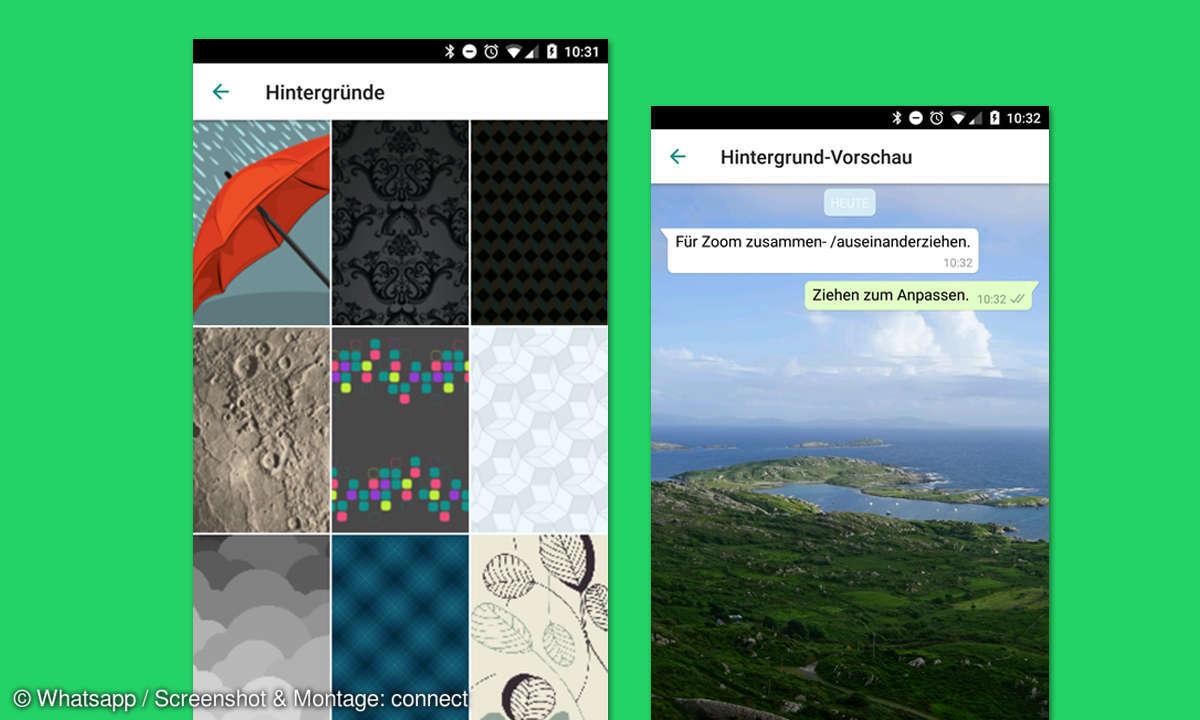 Whatsapp Hintergrundbild ändern