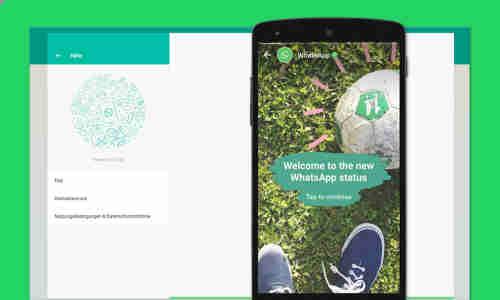 Whatsapp Web Status Funktion Kommt Jetzt Auch Auf Den Pc
